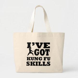 Diseños de los artes marciales de Kungfu Bolsa