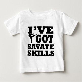 Diseños de los artes marciales de Savate Camisas