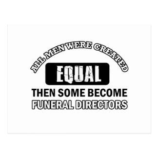 Diseños de los directores de funeraria