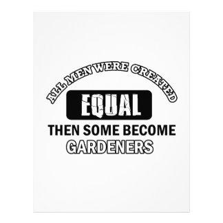diseños de los jardineros