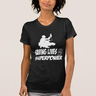 Diseños de los paramédicos camisetas