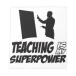 Diseños de los profesores bloc