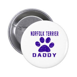 Diseños de los regalos del papá de Norfolk Terrier