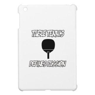 Diseños de los tenis de mesa