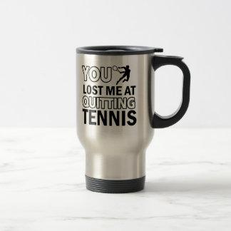 Diseños de los tenis sobre hierba taza térmica