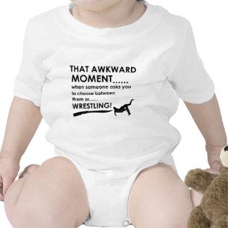Diseños de lucha frescos traje de bebé
