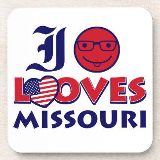 Diseños de Missouri Posavasos