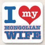 Diseños de Mongolia Posavaso