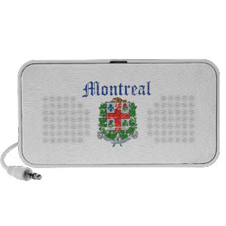 diseños de Montreal Canadá Mp3 Altavoz