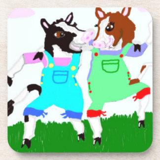 Diseños de Moohug con las vacas Posavasos De Bebidas