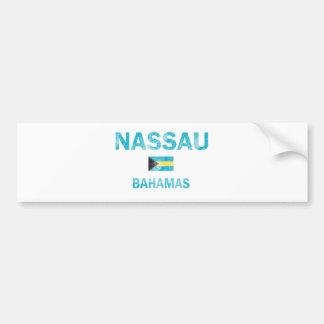 Diseños de Nassau Bahamas Pegatina Para Auto