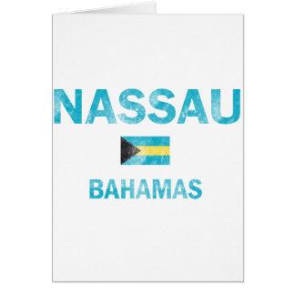Diseños de Nassau Bahamas Tarjeta De Felicitación