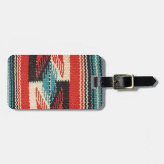Diseños de Navajo Etiquetas De Maletas