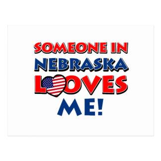 Diseños de Nebraska Tarjeta Postal