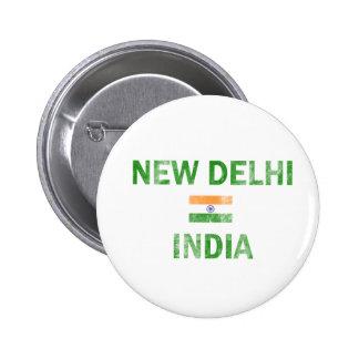 Diseños de Nueva Deli la India Pin Redondo 5 Cm