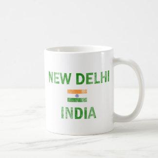 Diseños de Nueva Deli la India Taza
