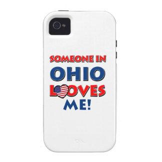 Diseños de OHIO iPhone 4/4S Carcasa