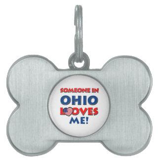Diseños de OHIO Placa Mascota