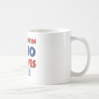 Diseños de OHIO Taza De Café
