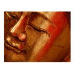 Diseños de oro únicos de Buda Postal