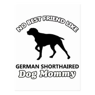 diseños de pelo corto del perro del germen postal