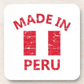 Diseños de Perú Posavasos De Bebidas