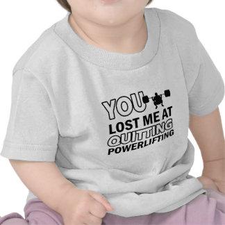 Diseños de Powerlifting Camiseta