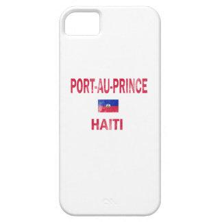 Diseños de príncipe Haití del Au del puerto iPhone 5 Protectores