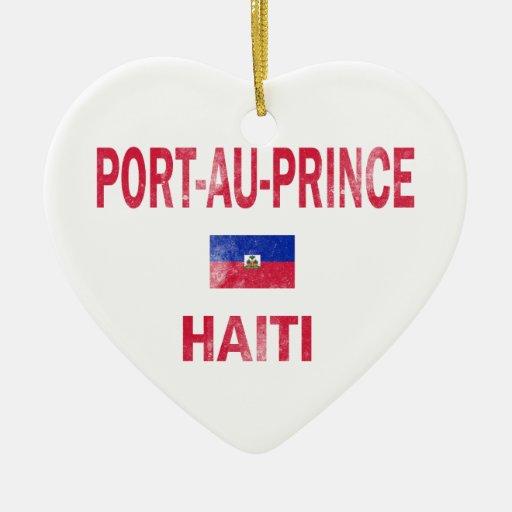 Diseños de príncipe Haití del Au del puerto Ornato