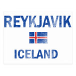 Diseños de Reykjavik Islandia Tarjetas Postales