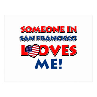diseños de San Francisco Tarjetas Postales