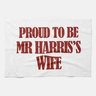 Diseños de señora harris toallas de mano