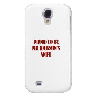 Diseños de señora Johnson Carcasa Para Galaxy S4