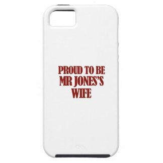 Diseños de señora Jones iPhone 5 Funda