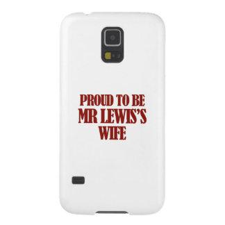 Diseños de señora Lewis Carcasa Galaxy S5