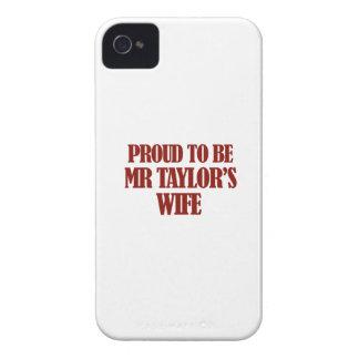 Diseños de señora TAYLOR Case-Mate iPhone 4 Cárcasa