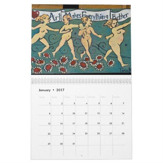 Diseños de Smoocherz Calendario De Pared