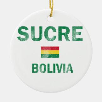 Diseños de Sucre Bolivia Ornamento De Navidad