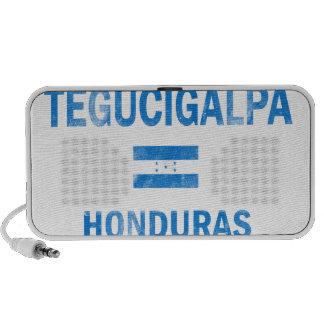Diseños de Tegucigalpa Honduras iPod Altavoces