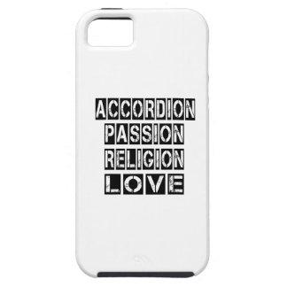 Diseños del acordeón iPhone 5 carcasas