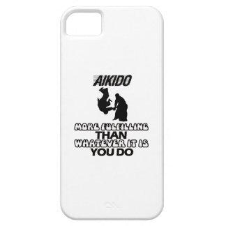 Diseños del Aikido Funda Para iPhone 5 Barely There