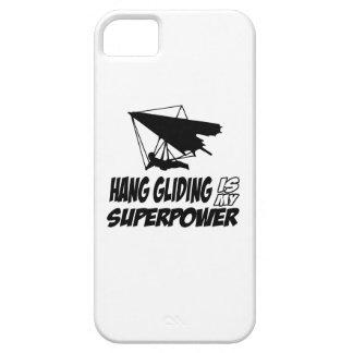 Diseños del ala delta iPhone 5 funda