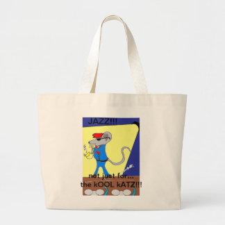 diseños del amante del jazz bolsas