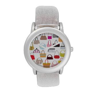 Diseños del amante del monedero de la diva relojes de mano