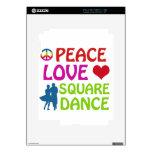 Diseños del baile cuadrado iPad 2 skins