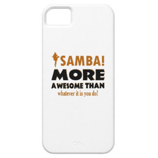 Diseños del baile de la samba iPhone 5 Case-Mate cobertura