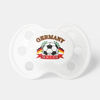 Diseños del balón de fútbol de Alemania Chupete De Bebé