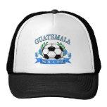 Diseños del balón de fútbol de Guatemala Gorras De Camionero