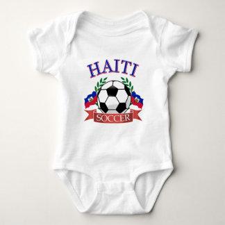 Diseños del balón de fútbol de Haití Tee Shirts