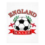 Diseños del balón de fútbol de Inglaterra Membrete